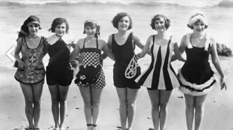 Swimsuit Fashion 1929
